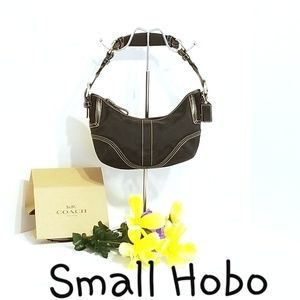 💯 Authentic Coach Small Hobo Bag G06N-6266